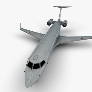 3D eagle bombardier crj 200