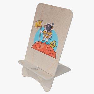 3D Smartphone Holder Stand model