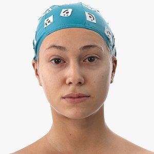3D model head human scan