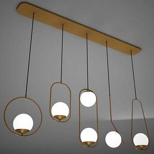 3D lamp architecture light