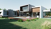 Exterior Modern  House SA