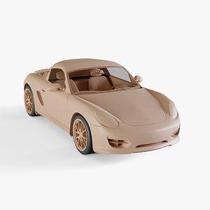 3D 2010 Porsche Boxster Spyder