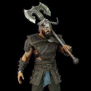 viking 2 3D model
