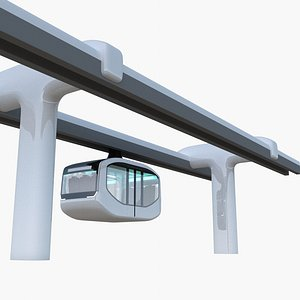 3D Elevated train concept