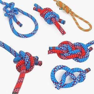 rope knots 3 3D