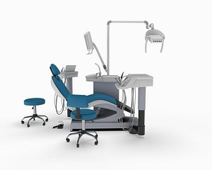 dental chair sirona 3D
