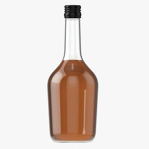 Whiskey bottle 09 3D model