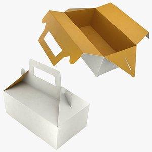 Food Box 02 Set 3D model
