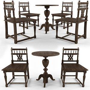 antique furniture model