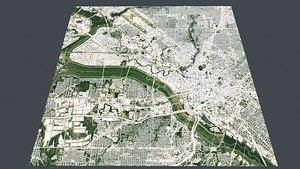 3D Cityscape Dallas USA