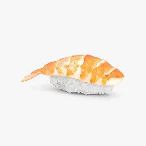 Sushi Ebi Nigiri 3D