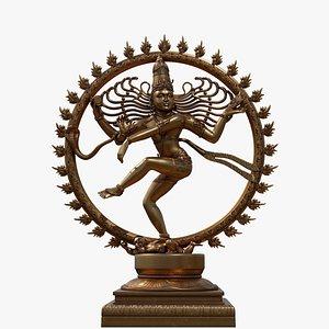 3D natarajar sculpture