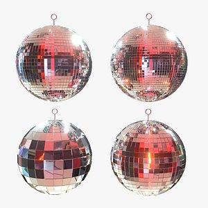 3D disco mirror party model