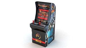 3D model kombat 2 arcade