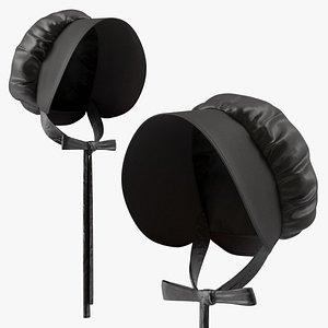Black Bonnet 3D model