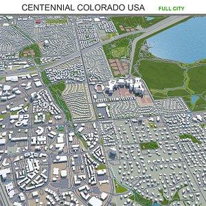 Centennial Colorado USA 3D