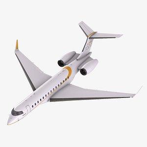Bombardier Global 7000 3D model