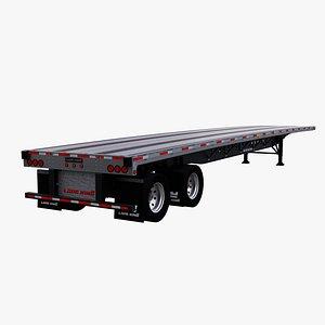 semi trailer renown 48 3D model