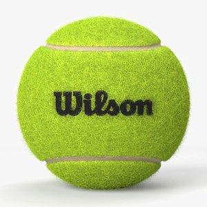 Wilson Tennis Ball 3D model