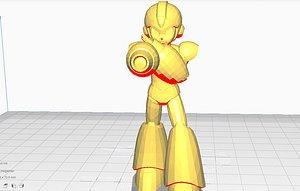 3D MEGAMAN Rigged model