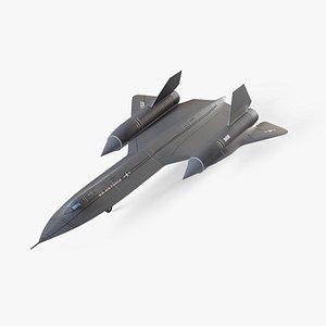 Lockheed SR-71 Blackbird model