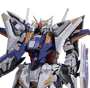 gundam mech robot model