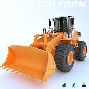 fiat allis tractor 3D model