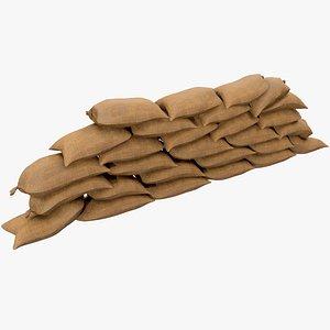 Sandbag v2 With Pbr 4K 8K