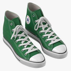 3D Basketball Shoes Green
