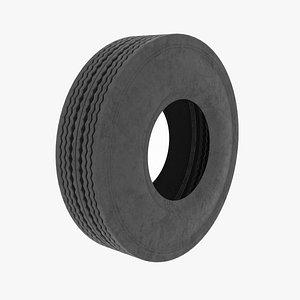 3D tire vehicle