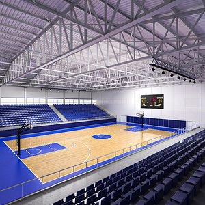 Basketball Arena 02 model