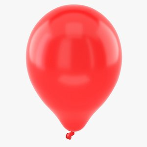 balloon holiday 3D model