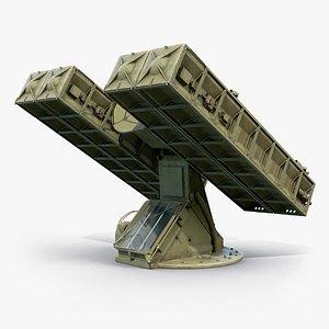 Strela-10 9K35 Missile System 3D model