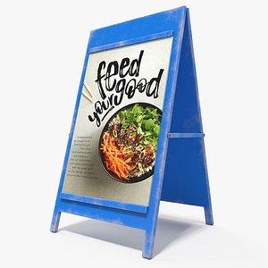 menu board pbr 3D