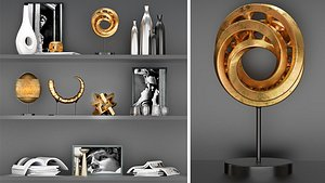 sculpture decorative model