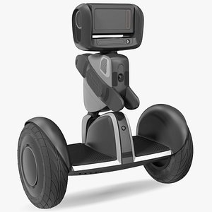 3D Segway Ninebot Loomo Personal Robot