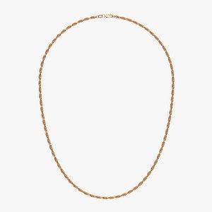 Chain Necklace NL012-0.5 3D
