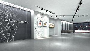 display exhibition 3D model