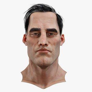 Jason Realistic model of male head 3D model