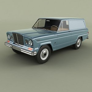 3D Jeep Wagoneer Panel Delivery