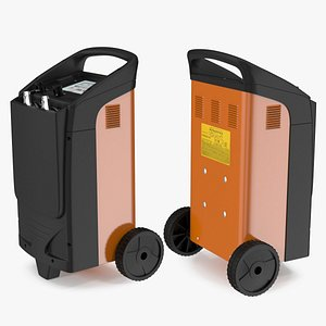 Professional Car Battery Charger and Tester 3D