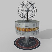 World Clock Berlin Alexander Platz