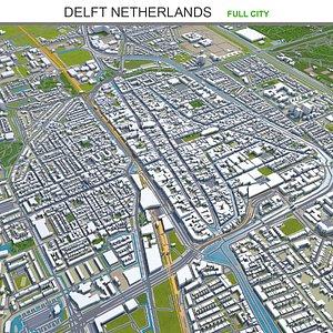 Delft Netherlands 3D model