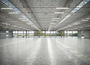 3D Warehouse Interior 3D Model