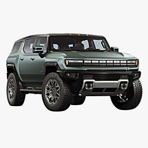 3D 2024 GMC Hummer EV SUV