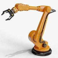 Industrial robot arm clean