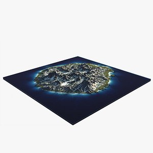 scene island 4 3D