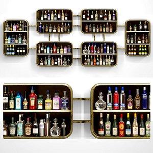 bars pubs 3D model