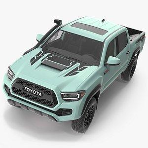 3D model Toyota Tacoma TRD Pro Lunar Rock 2021