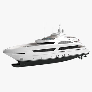 3D Willie Book Luxury Yacht Dynamic Simulation